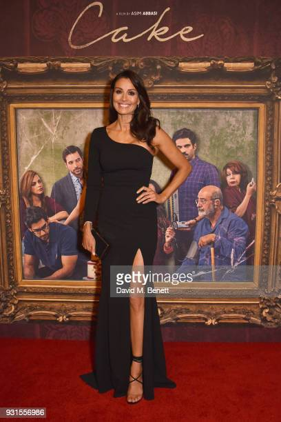 Mel Sykes attends the UK Premiere of Cake at the Vue West End on March 13 2018 in London England