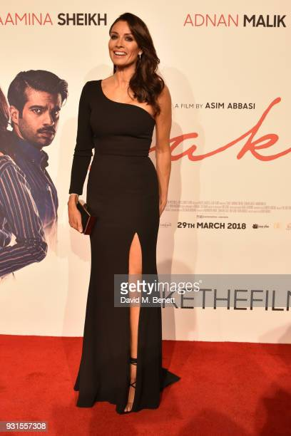 Mel Sykes attends the UK Premiere of 'Cake' at the Vue West End on March 13 2018 in London England