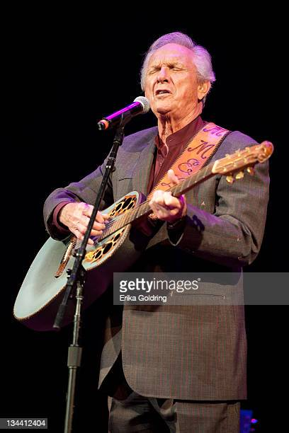 Mel Tillis performs during Marty Stuart's 10th annual Late Night Jam at the Ryman Auditorium on June 8 2011 in Nashville Tennessee