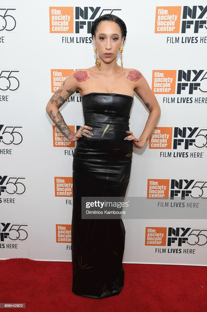 Mela Murder attends The 55th New York Film Festival - 'The Florida Project' at Alice Tully Hall on October 1, 2017 in New York City.