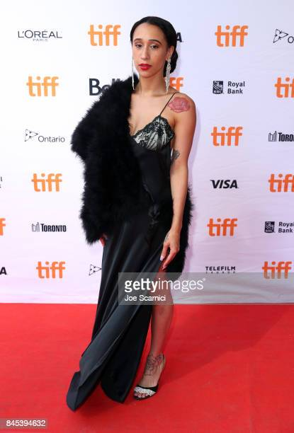 Mela Murder attends The Florida Project premiere during the 2017 Toronto International Film Festival at Ryerson Theatre on September 10 2017 in...