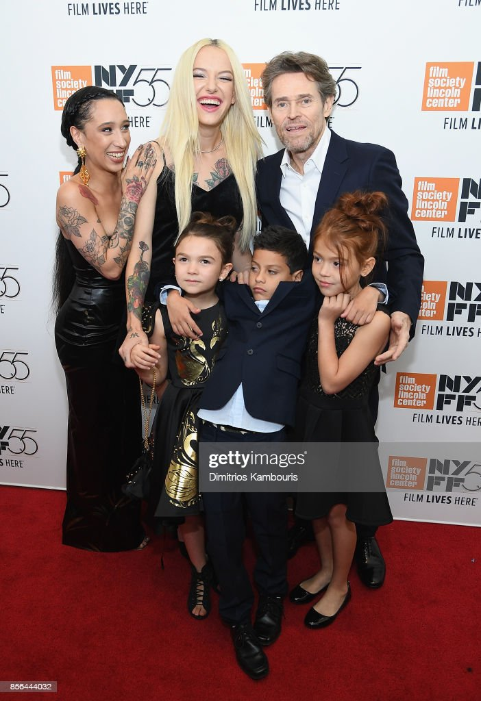 Mela Murder, Bria Vinaite, Brooklynn Prince, Christopher Rivera, Willem Dafoe and Valeria Cotto attend The 55th New York Film Festival - 'The Florida Project' at Alice Tully Hall on October 1, 2017 in New York City.