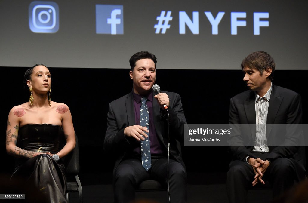 Mela Murder, screenwriter Chris Bergoch and director Sean Baker attend 55th New York Film Festival - 'The Florida Project' at Alice Tully Hall on October 1, 2017 in New York City.