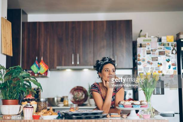 melancholia - stereotypical homemaker stock pictures, royalty-free photos & images
