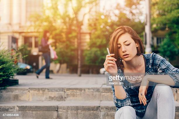 melancholy - smoking issues stock pictures, royalty-free photos & images
