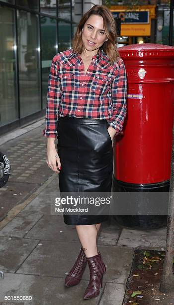 Melani Chisholm seen at BBC Radio 2 on December 16 2015 in London England