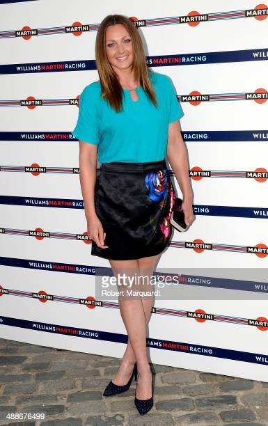 Melani Costa attends the 'Martini Racing' inauguration on May 7 2014 in Barcelona Spain