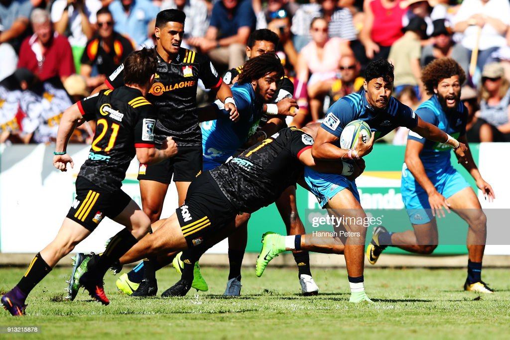 Chiefs v Blues - Super Rugby Pre-Season : News Photo