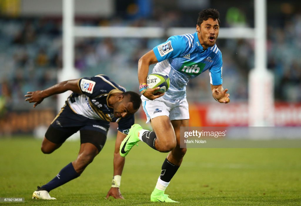 Super Rugby Rd 10 - Brumbies v Blues : News Photo