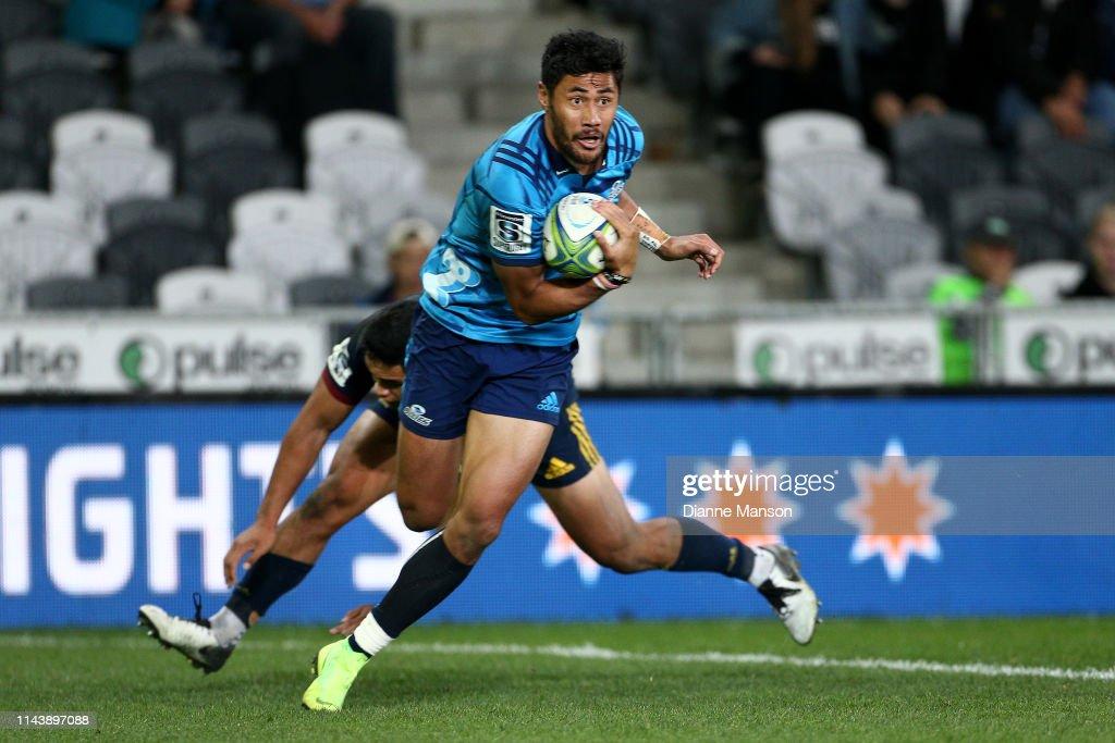Super Rugby Rd 10 - Highlanders v Blues : News Photo