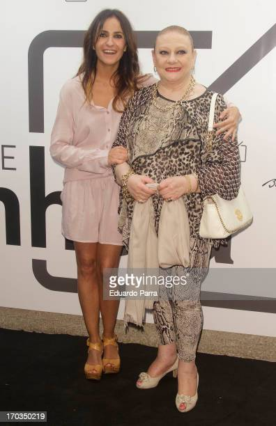 Melani Olivares and Marisol Ayuso attend 'Bendita locura' new collection party photocall at Villamagna hotel on June 11, 2013 in Madrid, Spain.