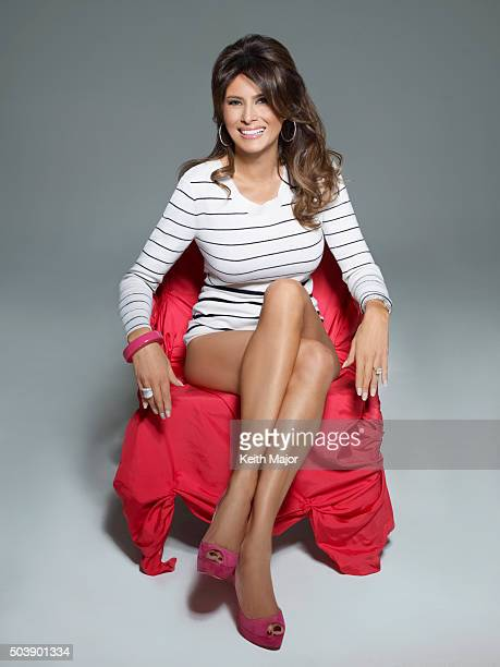 Melania Knauss Trump is photographed for Avenue Magazine on July 27 2012 in New York City PUBLISHED IMAGE