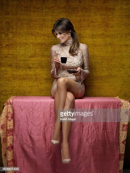 melania knauss trump is photographed for avenue magazine