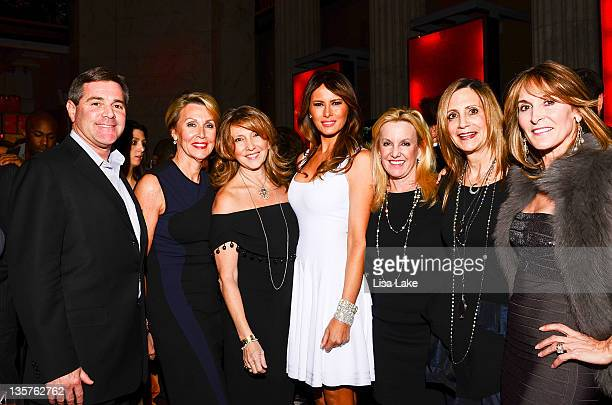 Melania Trump and guests attend Philadelphia Style Magazine cover event hosted by Melania Trump at Ritz Carlton Hotel on December 13 2011 in...