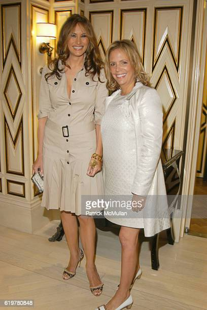 Melania Trump and Susie Hilfiger attend BEST CO's Fall Preview Benefit for THE SOCIETY OF MEMORIAL SLOAN KETTERING CANCER CENTER at Bergdorf Goodman...