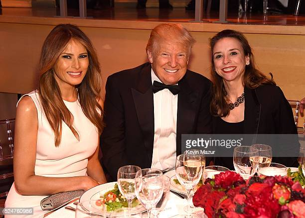 Melania Trump Donald Trump and industrial engineer Jane Boon attend the 2016 Time 100 Gala Time's Most Influential People In The World at Jazz At...