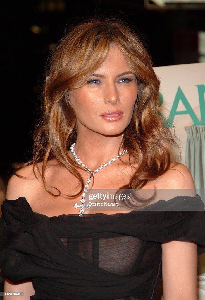 Donald Trump Hosts the Opening Night Reception of 'Veranda: New York's Best at Trump Park Avenue' : News Photo