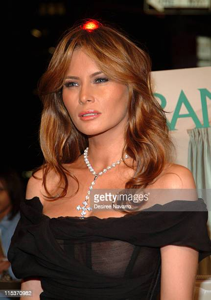 Melania Trump during Donald Trump Hosts the Opening Night Reception of Veranda New York's Best at Trump Park Avenue The Ultimate Showcase Penthouse...