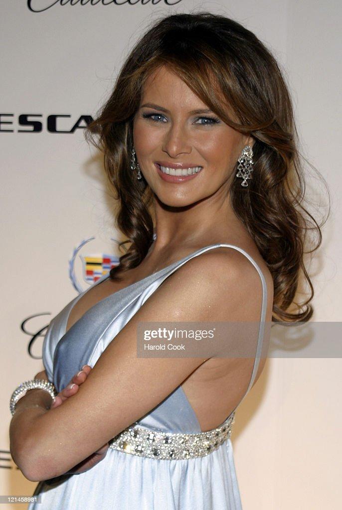 Melania Trump Unveils The 2007 Cadillac Escalade to The Fashion World