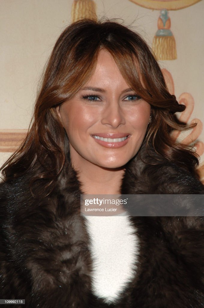 Melania Trump during The Police Athletic League's 17th Annual Woman of the Year Luncheon at Pierre Hotel in New York City, New York, United States.