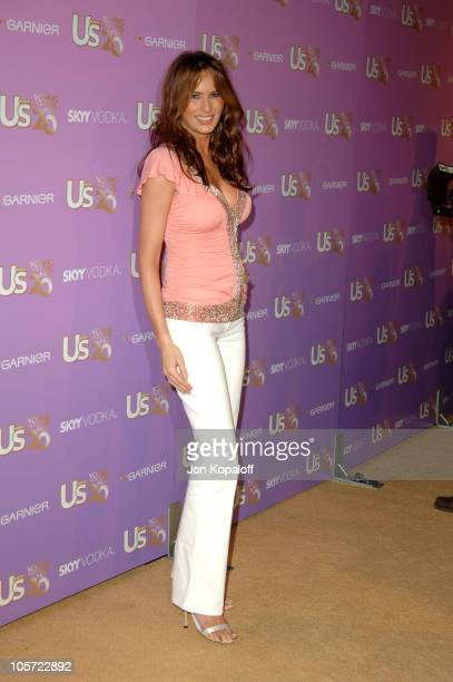 Melania Trump during US Weekly's Young Hollywood Hot 20 September 16 2005 at LAX in Hollywood California United States