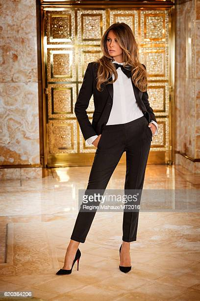 Melania Trump is photographed at Trump Tower on January 6 2016 in New York City