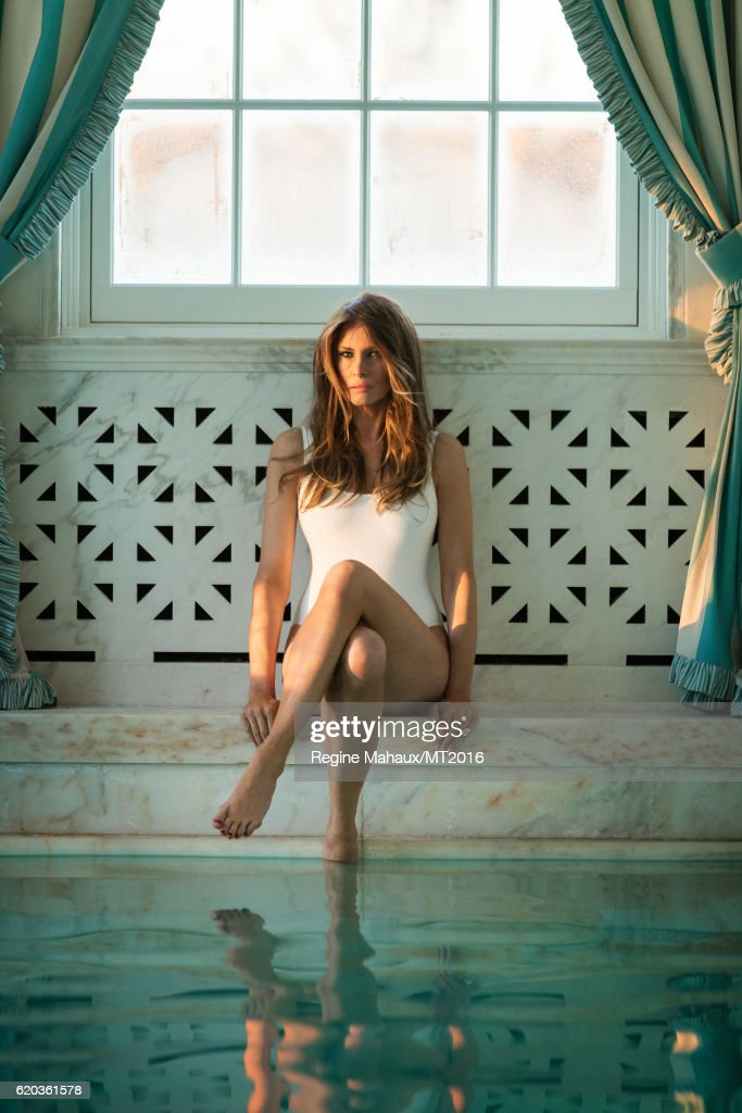 Donald And Melania At Home Shoot : News Photo