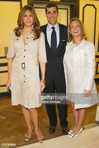 Melania Trump Jim Gold and Susie Hilfiger attend BEST CO's Fall Preview Benefit for THE SOCIETY OF MEMORIAL SLOAN KETTERING CANCER CENTER at Bergdorf...