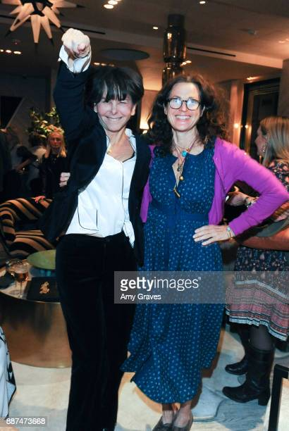 Melanie Acevedo and Tierney Gearon attend Kelly Wearstler hosts 'The Authentics' book signing launch party for Melanie Acevedo and Dara Caponigro at...