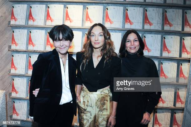 Melanie Acevedo Kelly Wearstler and Dara Caponigro attend Kelly Wearstler hosts 'The Authentics' book signing launch party for Melanie Acevedo and...