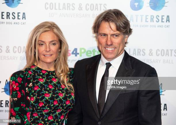 Melanie and Jon Bishop attends the Battersea Dogs Cats Home Collars Coats Gala Ball 2018 at Battersea Evolution