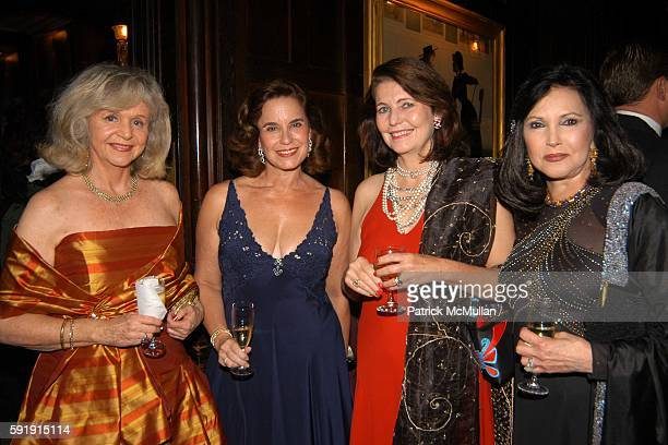 Melanie Bell Toni Delerive Alice Roper and Phyllis Adler attend The National Arts Club Hosts The Third Annual Gold Medal For Fashion in Honor of Oleg...