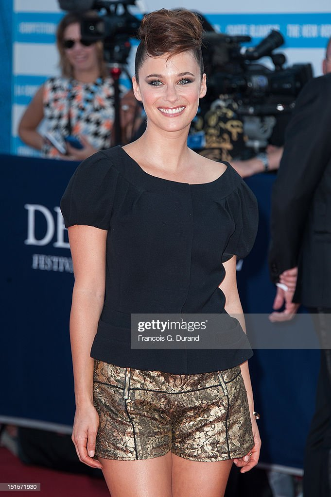 Melanie Bernier arrives at the closing ceremony of the 38th Deauville American Film Festival on September 8, 2012 in Deauville, France.