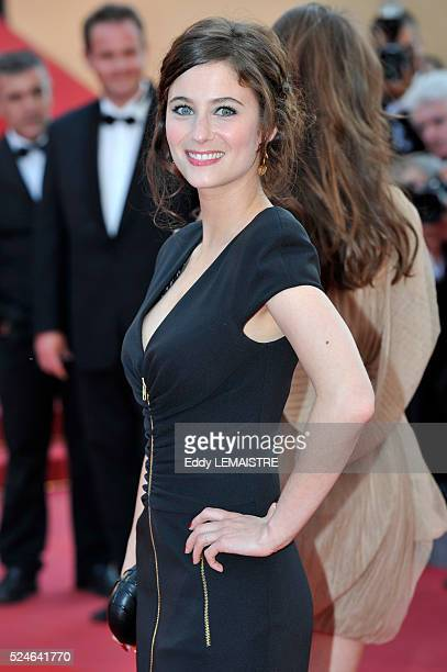 Melanie Bernier at the premiere of Of God and Men during the 63rd Cannes International Film Festival