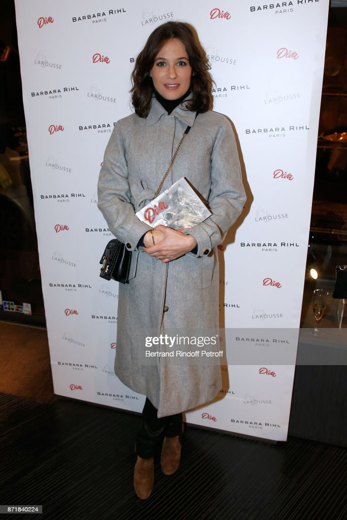 Reem Kherici Book Signing At The Barbara Rihl Boutique In Paris