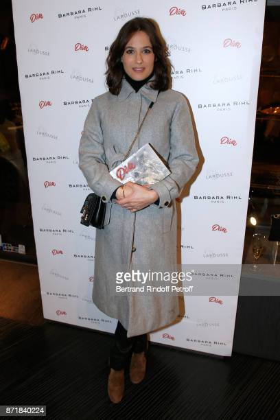 Melanie Bernier attends Reem Kherici signs her book 'Diva' at the Barbara Rihl Boutique on November 8 2017 in Paris France