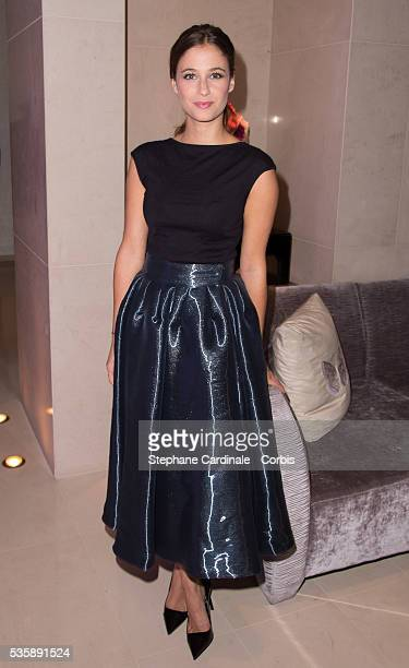 Melanie Bernier attends the 'J'Aime La Mode' Cocktail Event Hosted by Chef Thierry Marx at Hotel Mandarin Oriental on September 23 2013 in Paris