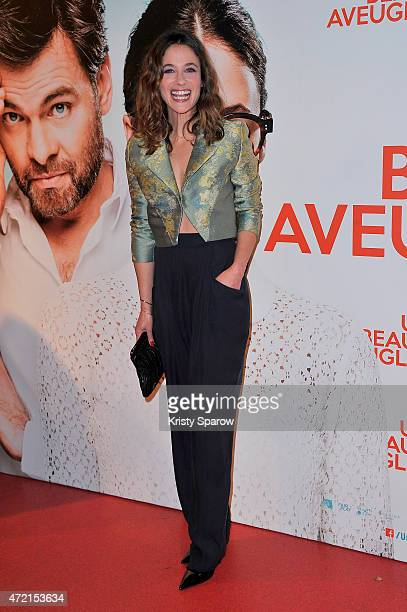 Melanie Bernier attends the 'Un Peu Beaucoup Aveuglement' Paris Premiere at Cinema Gaumont Capucines on May 4 2015 in Paris France