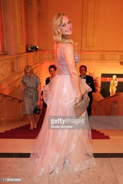 Melanie Binder sister of Mirjam Weichselbraun during the ROMY award at Hofburg Vienna on April 13 2019 in Vienna Austria