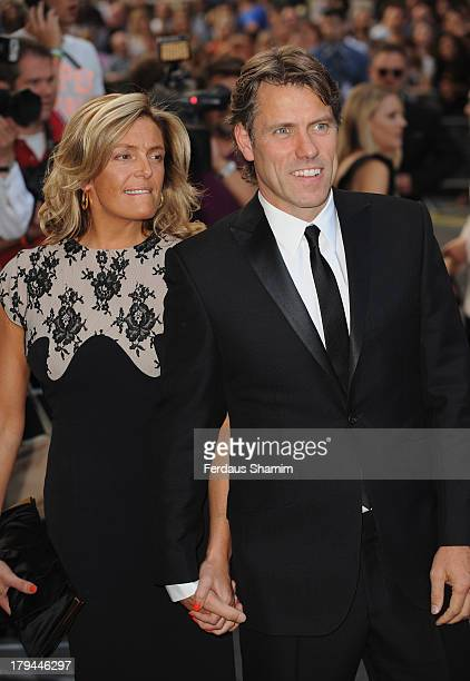 Melanie Bishop and John Bishop attend the GQ Men of the Year awards at The Royal Opera House on September 3 2013 in London England