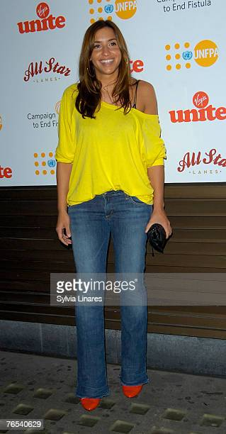 Melanie Blatt at the Virgin Unite Campaign to End Fistula Celebrity Bowl Off September 5, 2007 at All Star Lanes in London, England.