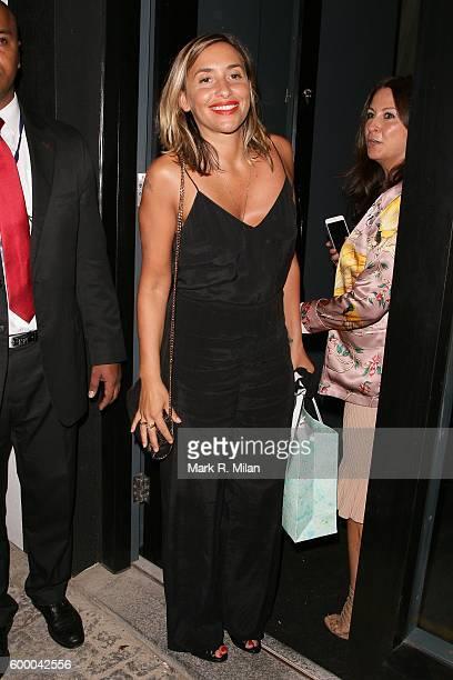 Melanie Blatt attending the Ara Vartanian store opening party on September 7 2016 in London England