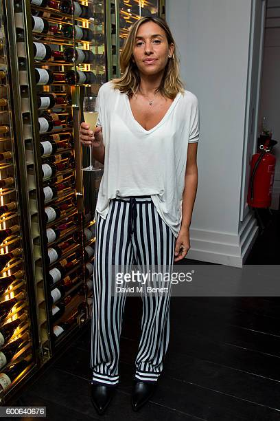 Melanie Blatt attends the Attribute London X Erin Wasson collection launch dinner cohosted by campaign face and design contributor Erin Wasson for...