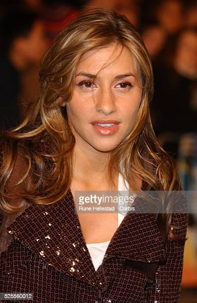 Melanie Blatt attends the premiere of 'Robots' at Vue Leicester Square