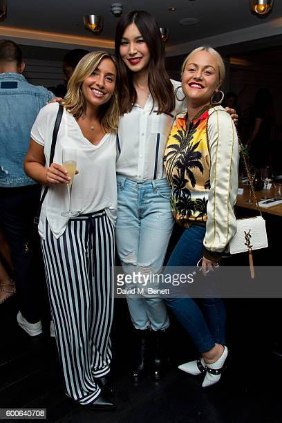 Melanie Blatt Gemma Chan and Jaime Winstone attend the Attribute London X Erin Wasson collection launch dinner cohosted by campaign face and design...