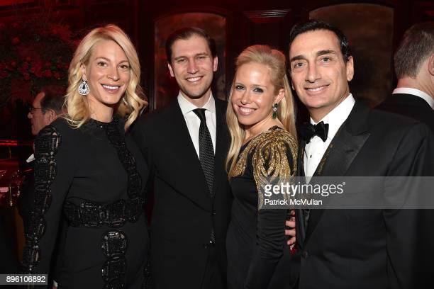 Melanie Bronfman David Klein Lisa Klein and Matthew Bronfman attend Julie Macklowe's 40th birthday Spectacular at La Goulue on December 19 2017 in...