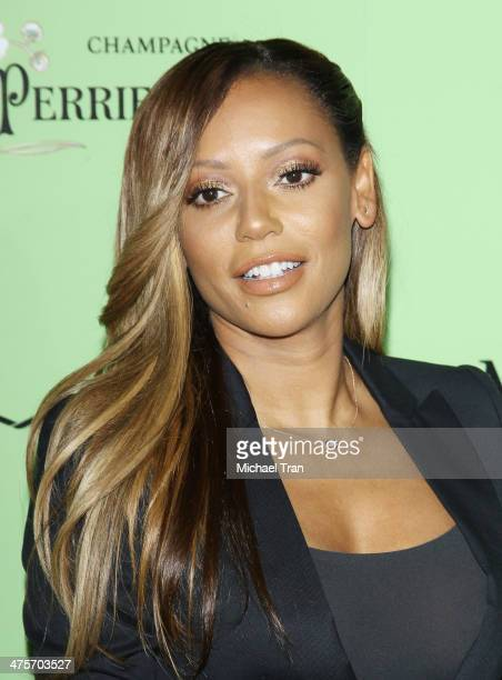 Melanie Brown aka Mel B arrives at the 7th Annual Women In Film PreOscar cocktail party held at Fig Olive Melrose Place on February 28 2014 in West...
