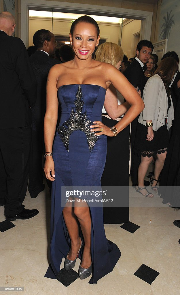 Melanie Brown aka Mel B attends 'Moncler, The After Party To Benefit amfAR' during The 66th Annual Cannes Film Festival at Hotel du Cap-Eden-Roc on May 23, 2013 in Cap d'Antibes, France.