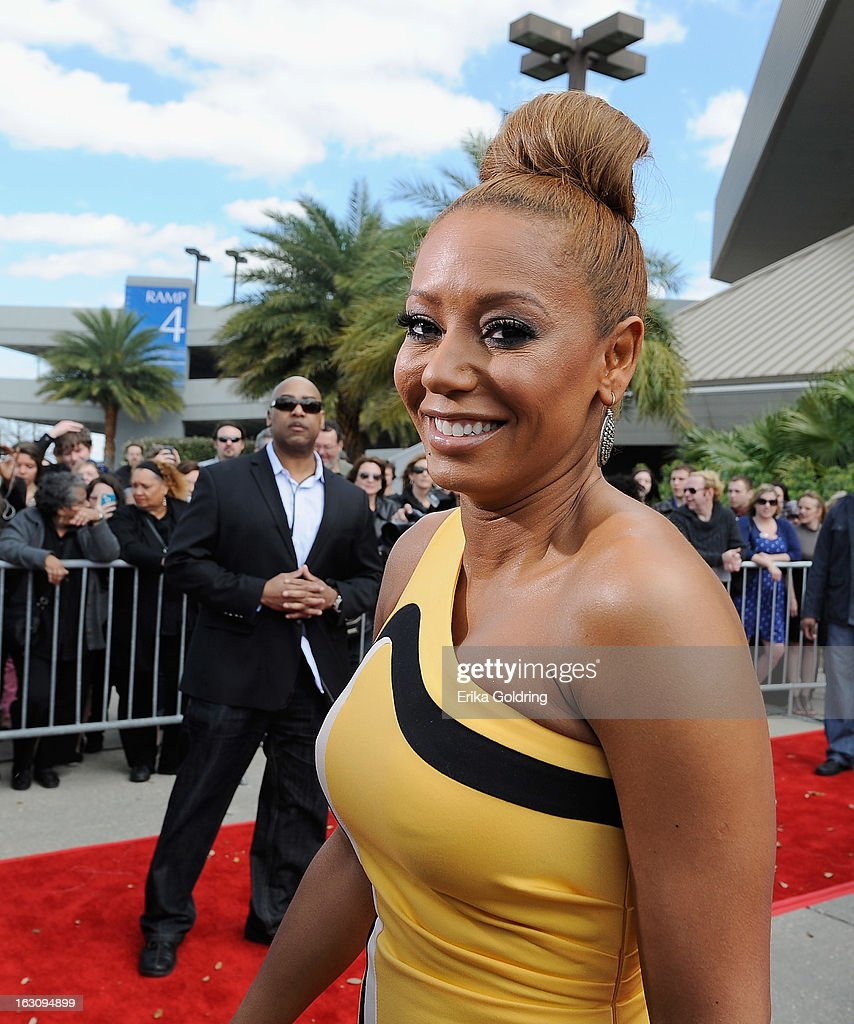 Melanie Brown aka Mel B of the Brit-pop girl group Spice Girls attends the 'America's Got Talent' New Orleans auditions as a judge at UNO Lakefront Arena on March 4, 2013 in New Orleans, Louisiana.
