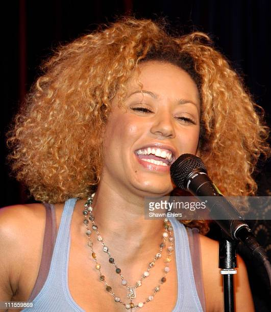 Melanie Brown aka Scary Spice during The Cutting Room Welcomes 'Scary Spice' and 'Rent' at The Cutting Room in New York City New York United States